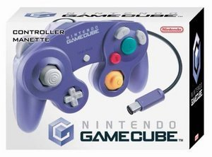 Nintendo GameCube kontroler - Clear Blue (GC)