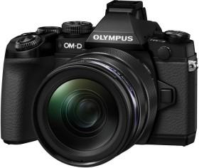 Olympus OM-D E-M1 schwarz mit Objektiv M.Zuiko digital ED 12-40mm (V207017BE000)