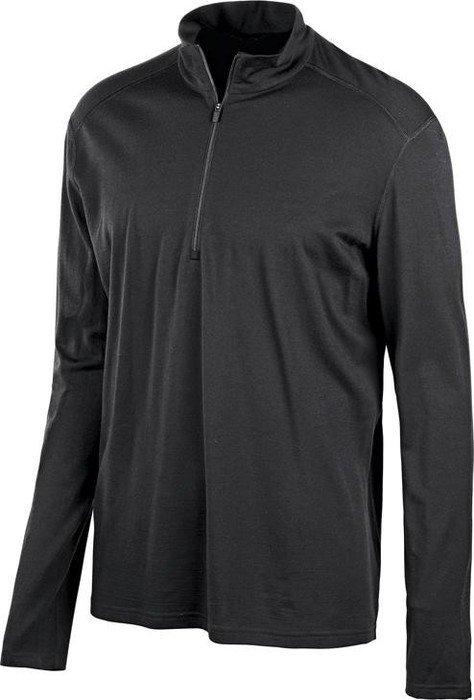 Icebreaker Oasis Half-Zip Shirt długi rękaw czarny (męskie) -- ©Globetrotter