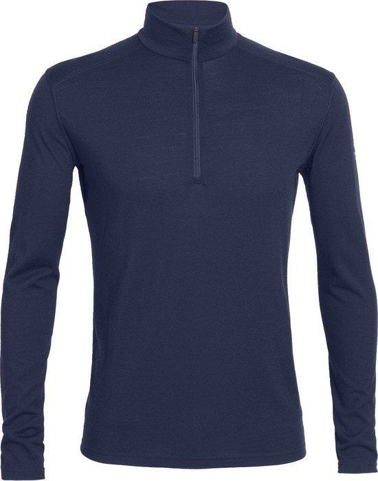 Icebreaker Oasis Half-Zip Shirt długi rękaw Admiral (męskie) -- ©Globetrotter