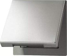 Jung series LS hinged cover with return spring, aluminium (AL 2990 KL)