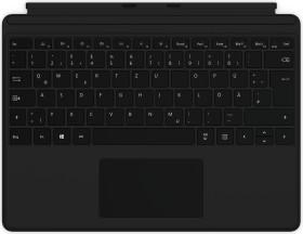 Microsoft Surface Pro X Keyboard schwarz, DE (QJW-00005)