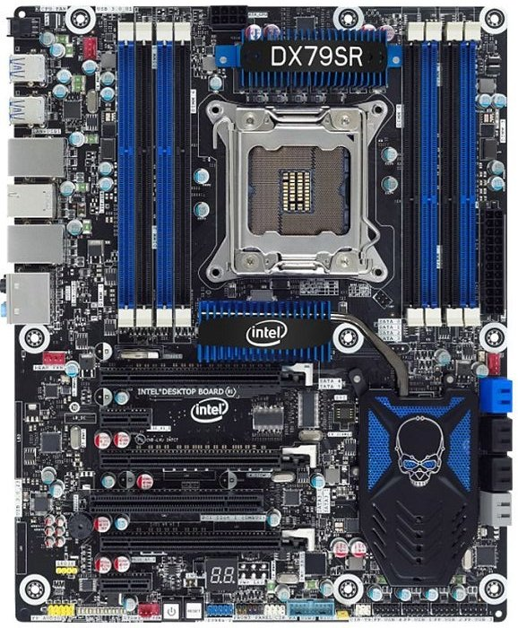 Intel DX79SR, X79 (quad PC3-19200U DDR3) (BOXDX79SR)