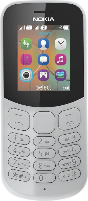 Nokia 130 (2017) Dual-SIM grau