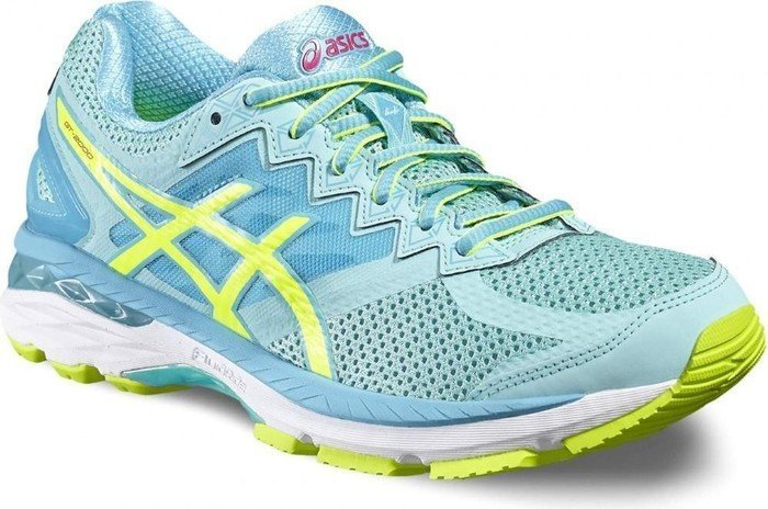 official photos 00be1 7e16d Asics GT-2000 4 blau/gelb (Damen) (T656N-7807) ab € 53,99