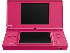 Nintendo DSi Basic unit, pink