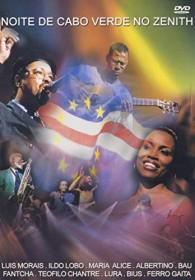 Noite De Cabo Verde No Zenith (DVD)
