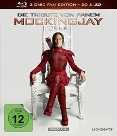 Die Tribute von Panem - Mockingjay Teil 2 (3D) (Blu-ray)