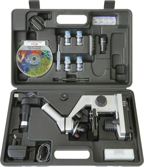 Bresser Junior Biolux CEA 40x-1024x microscope set (8855000)