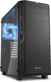 Sharkoon AI7000 Glass schwarz, Glasfenster