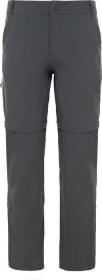 The North Face Exploration Convertible pant long asphalt grey (ladies)