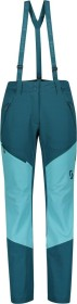Scott Explorair Ascent WS Skihose lang majolica blue/bright blue (Damen) (277711-6650)