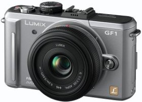 Panasonic Lumix DMC-GF1 silber Body