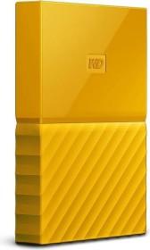 Western Digital WD My Passport Portable - Exclusive Edition - gelb 1TB, USB 3.0 Micro-B (WDBYNN0010BYL-EEEX)