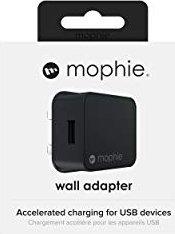 Mophie Power Adapter USB-A 5V (UK) schwarz (409903237)