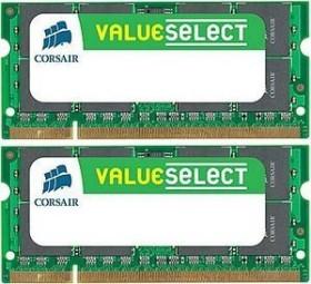 Corsair ValueSelect SO-DIMM Kit 4GB, DDR2-667, CL5 (VS4GSDSKIT667D2)
