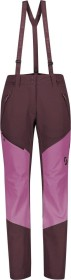 Scott Explorair Ascent WS Skihose lang red fudge/cassis pink (Damen) (277711-6654)