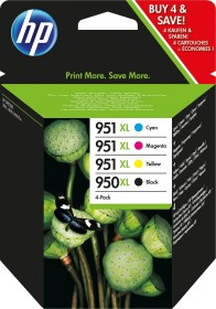 HP Tinte 950 XL/951 XL Rainbow Kit (C2P43AE)