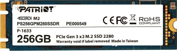 Patriot Scorch M2 256GB, M.2 (PS256GPM280SSDR)
