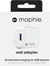 Mophie Power Adapter USB-A 5V (UK) weiß (409903238)