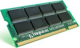 Kingston ValueRAM SO-DIMM 1GB, DDR-400, CL3-3-3 (KVR400X64SC3A/1G)
