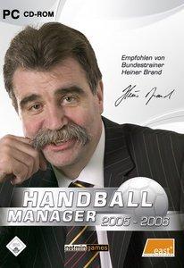Handball Manager 2005/2006 (deutsch) (PC)