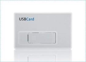 Freecom USBCard weiß 1GB, USB-A 2.0 (30577)