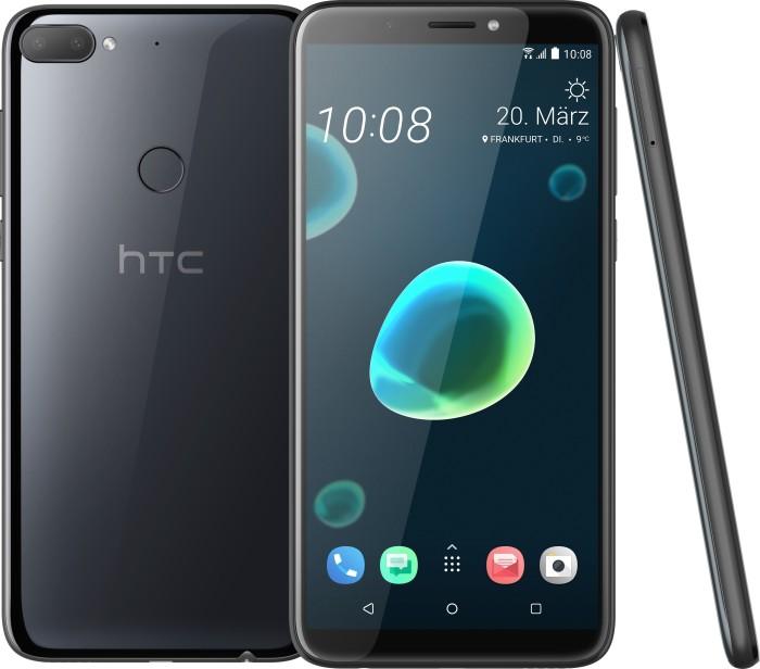 HTC Desire 12+ Dual-SIM schwarz