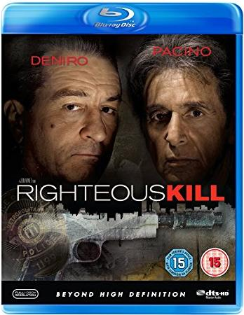 Righteous Kill (Blu-ray) (UK) -- via Amazon Partnerprogramm