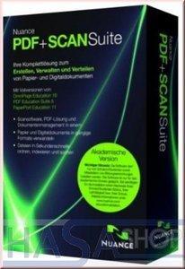 Nuance PDF & Scan Suite, EDU (German) (PC) (R809G-F06)
