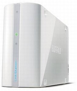 Buffalo LinkStation Mini weiß 2000GB, Gb LAN (LS-WSX2.0TL/R1WH)