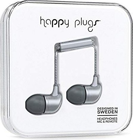 Happy Plugs in-ear space Grey (7834) -- via Amazon Partnerprogramm