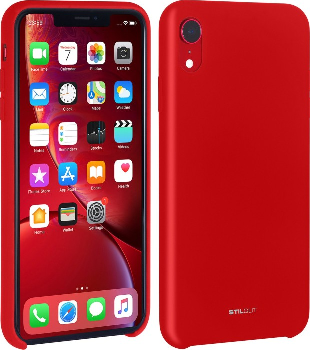 cffe4d13a8b61 Stilgut liquid Silicone case for Apple iPhone XR red (B07GYP8RQH) starting  from £ 19.99 (2019) | Skinflint Price Comparison UK