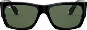 Ray-Ban RB2187 Nomad 54mm black/green classic (RB2187-901/58)