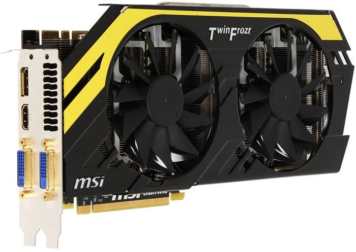 MSI N680GTX Lightning, GeForce GTX 680, 2GB GDDR5, 2x DVI, HDMI, DisplayPort (V283-005R)