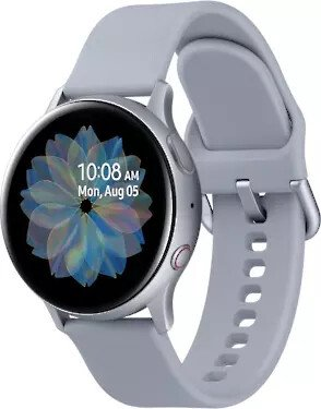 Samsung Galaxy Watch Active 2 LTE R835 Aluminum 40mm silber