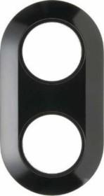 Berker Serie 1930 Rahmen 2fach, schwarz (138121)
