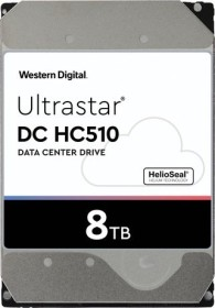 Western Digital Ultrastar DC HC510 8TB, 512e, SE, SATA 6Gb/s (HUH721008ALE604 / 0F27612)