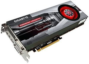 Gigabyte Radeon HD 6970, 2GB GDDR5, 2x DVI, HDMI, 2x mini DisplayPort (GV-R697D5-2GD-B)