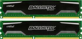 Crucial Ballistix Sport DIMM Kit 16GB, DDR3-1600, CL9-9-9-24 (BLS2KIT8G3D1609DS1S00 / BLS2CP8G3D1609DS1S00)