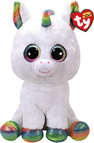 Ty Beanie Boos Pixy White Unicorn 42cm 36859 Starting