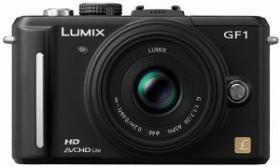 Panasonic Lumix DMC-GF1 schwarz mit Objektiv Lumix G 20mm 1.7 (DMC-GF1C)
