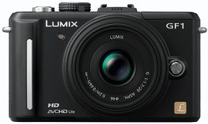 Panasonic Lumix DMC-GF1 (EVIL) black with lens Lumix G 20mm 1.7 (DMC-GF1C)
