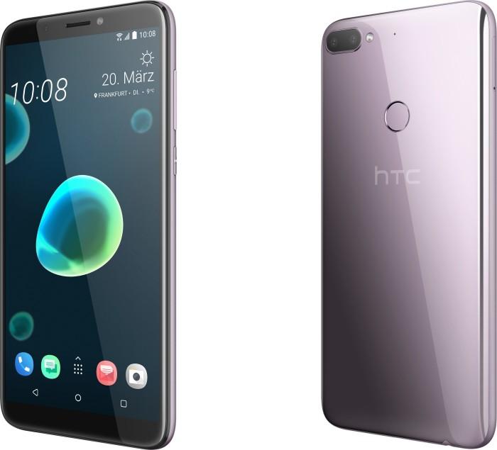 HTC Desire 12+ Dual-SIM silber