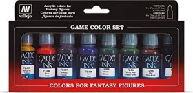"Vallejo Game Color ""Inks"" Farbset, 8-tlg. (72.296)"