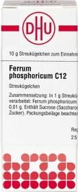 DHU Ferrum phosphoricum Globuli C12, 10g