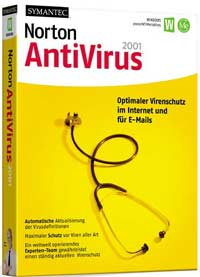 Symantec: Norton AntiVirus 2001 7.0, 5 User (englisch) (PC) (07-00-76150-in)