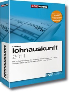 Lexware: wage information network version 2011, Update (German) (PC) (08847-5022)