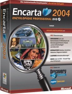 Microsoft: Encarta encyclopedia 2004 Professional DVD (German) (PC) (844-00578)