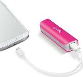 Celly Powerbank H24 2600 pink (PB2600PK)